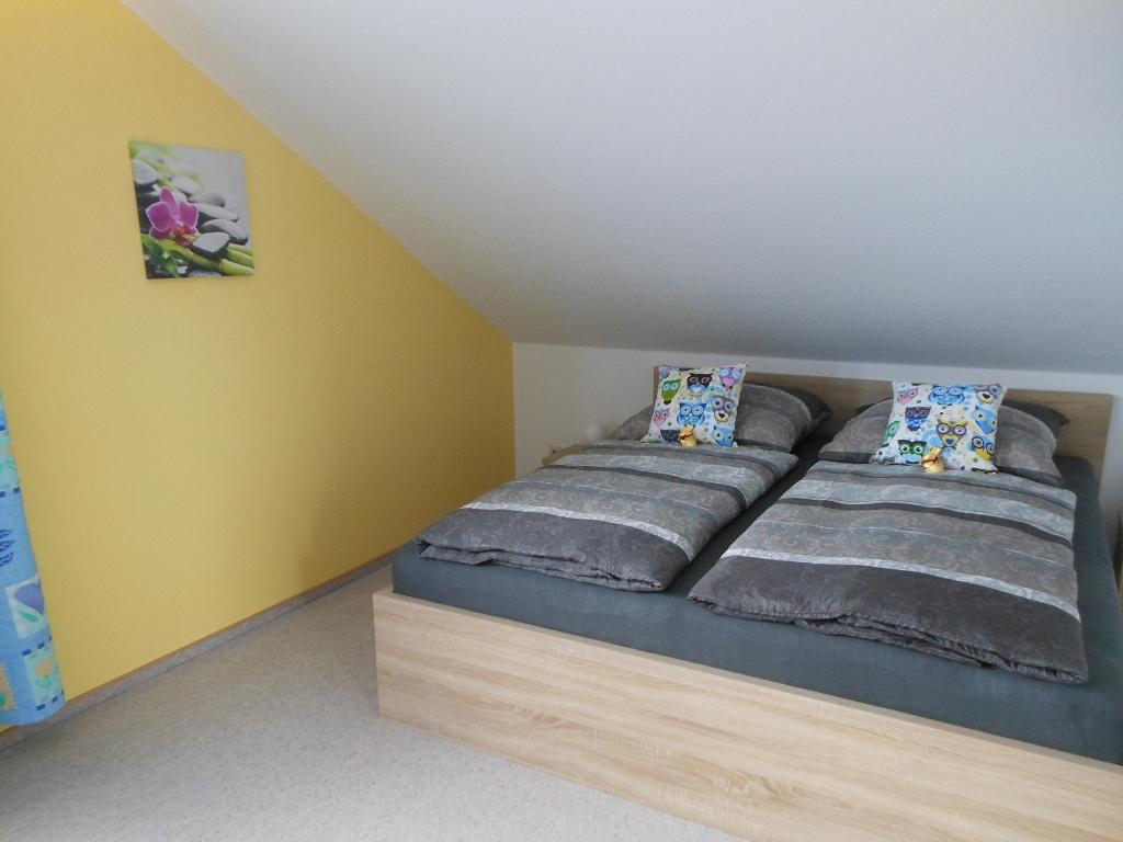 Großes Schlafzimmer Doppelbett