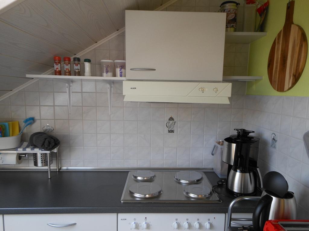 Küche Elektroherd mit 4 Platten