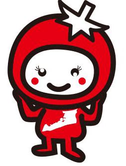 あつみちゃんトマトオリジナルキャラクターのあつみちゃん