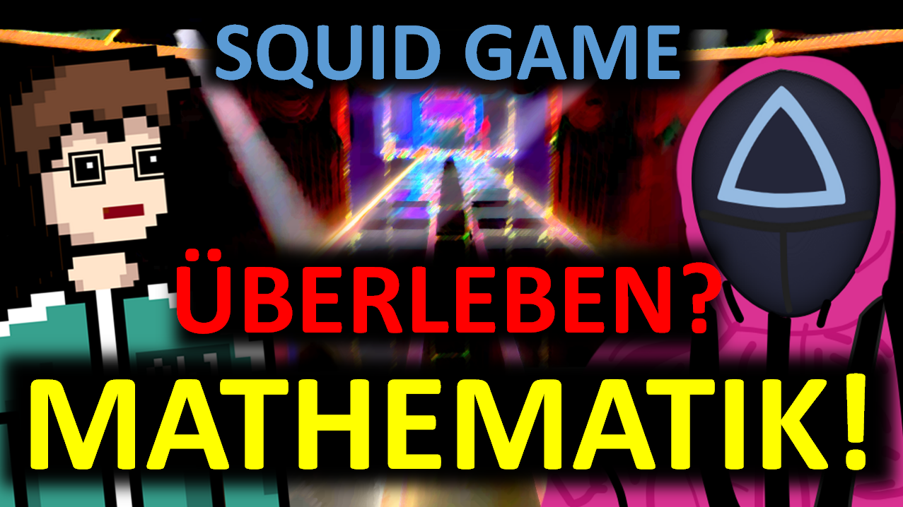 SQUID GAME: Die MATHEMATIK des Spiels GLASBRÜCKE