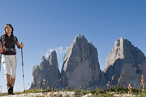 Escursionismo in Alto Adige nelle Dolomiti