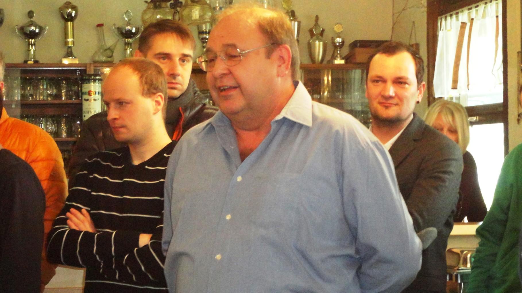 Viktor Disch I. Vorstand FSV Oberprechtal