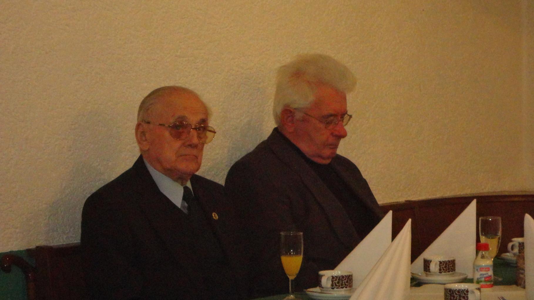 Emil Becherer und Alois Kuhn