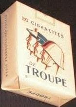 paquet ''troupes''- guerre d'Algérie