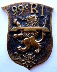 Médaillon de la 2e Cie circa 1970 (Fonds TANGUY)
