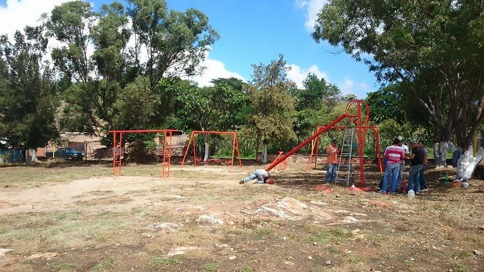 Mantenimiento de área recreativa (Unidad Deportiva)