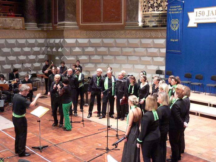 Cantami (ehem. Junger Chor) unter der Leitung von Dr. Holger Meireis