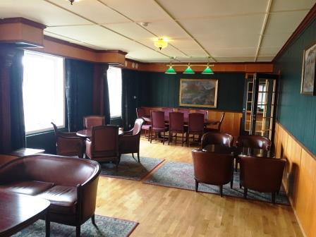Salon im Spitsbergen Hotel