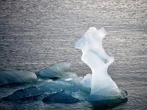 Wunderschöne Eisskulpturen