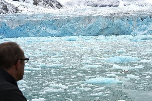 herrliches Gletscherblau