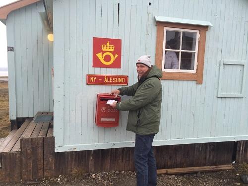 Nördlichestes Postamt der Welt in Ny Alesund.