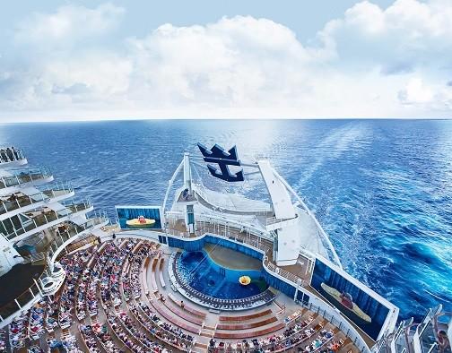 Schwesterschiff Oasis of the Seas