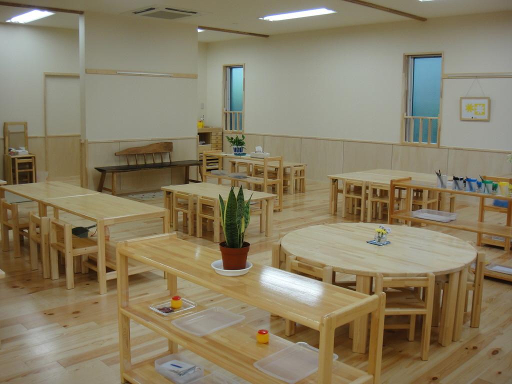 幼児クラス(2歳~5歳)のお部屋