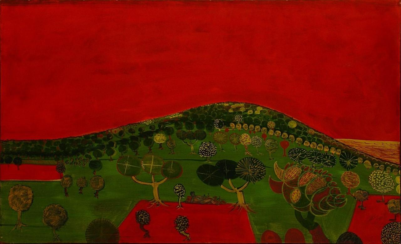 Brô 146x90 1967 une vie très agréable dans un tableau