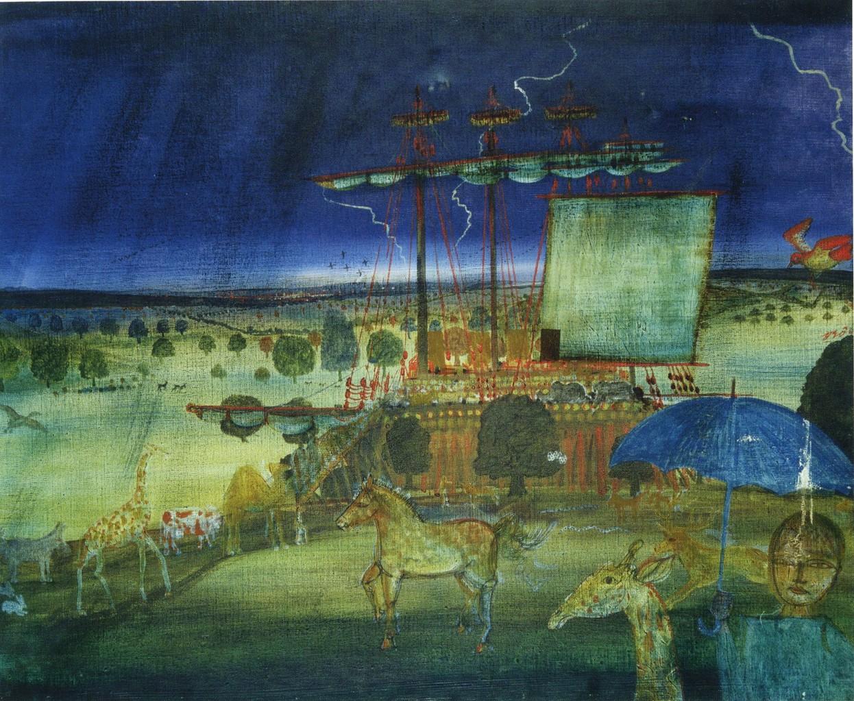 L'arche de Noé 73x60