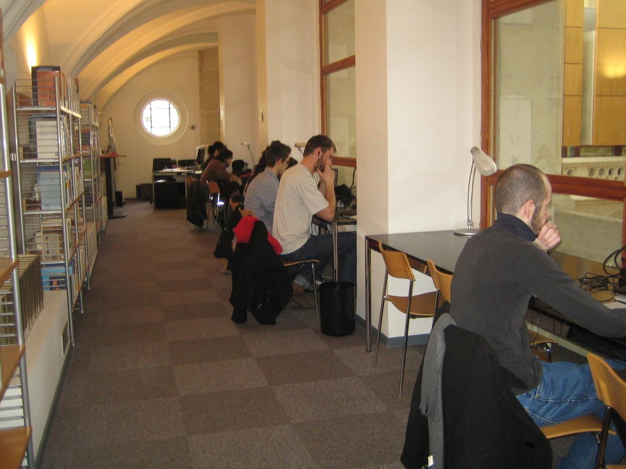 Zone Wifi en Galerie