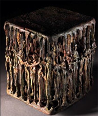 AUTOPORTRAIT 2002, 30 x 25 x 21 cm, Bronze à cire perdue