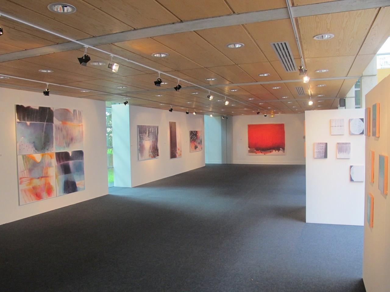 Salle d'exposition, exposition Christine Morin, Octobre 2012.