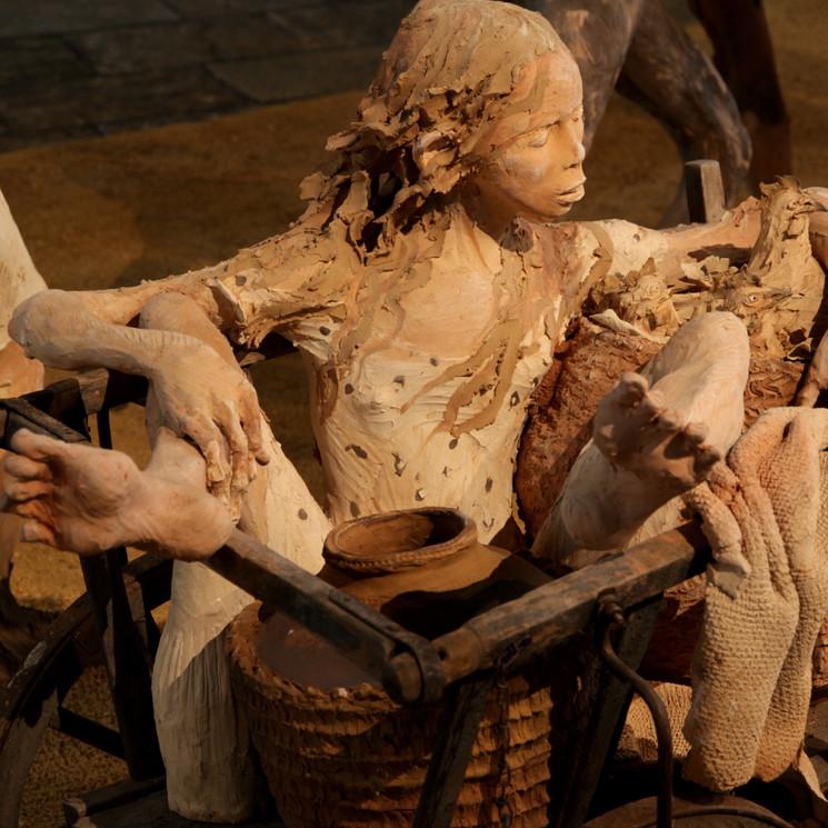 Sculptures, terre cuite, Fanny Ferré
