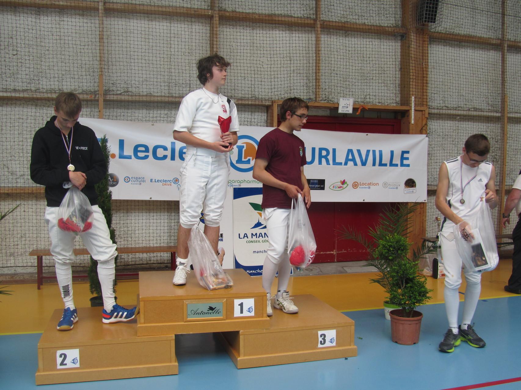 Bastien Prunier termine 3e