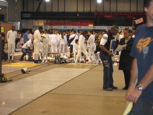 Championnats de France N2 cadet à Nîmes (saison 2007/2008)
