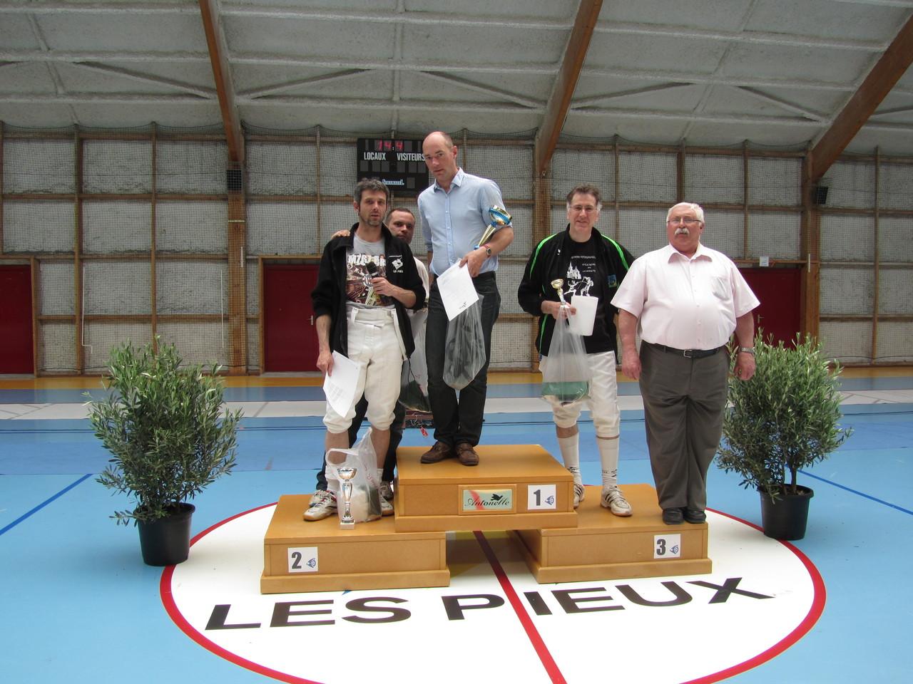 podium EHS 2013
