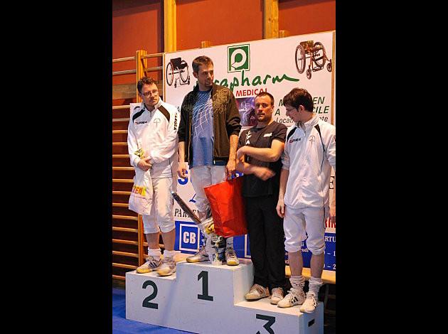 Mickaël sur la plus haute marche au tournoi de Touques 2011