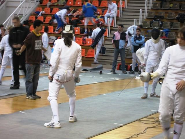 Championnats de France à Nîmes (Emilien de dos)