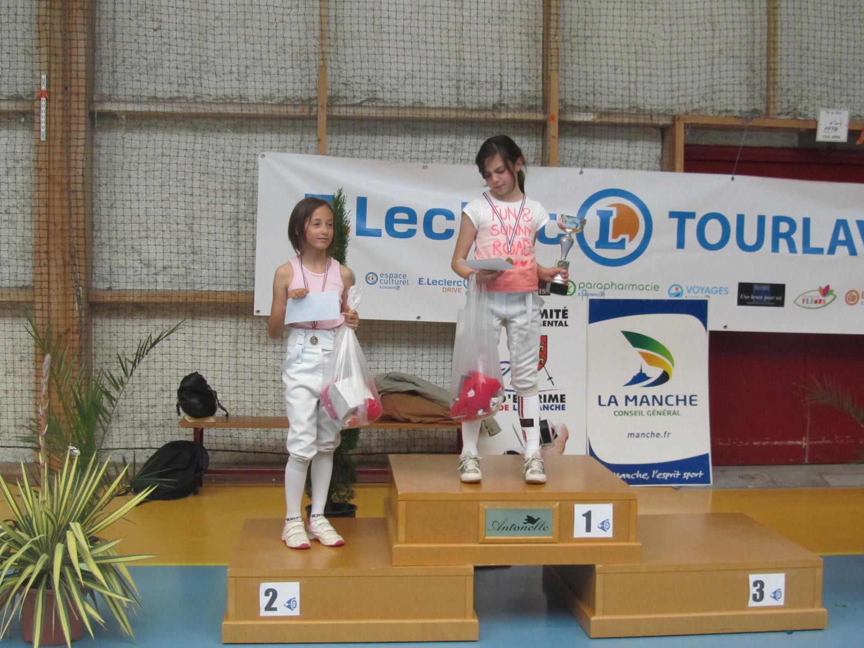 Prunylle Lemonnier (Les Pieux) complète le podium