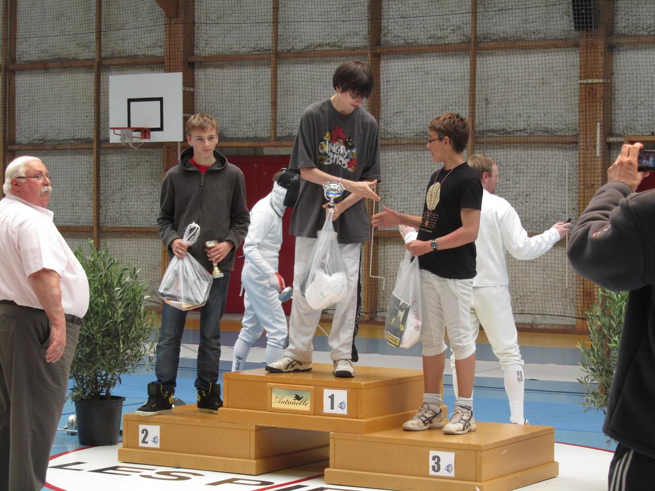 podium EHC 2013