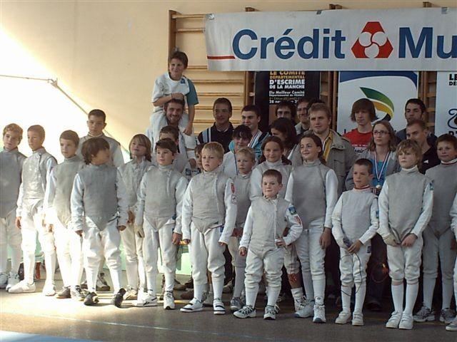 les jeunes au tournoi du Cotentin