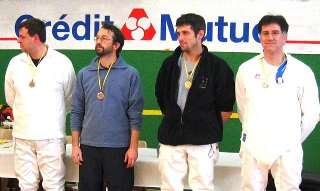championnats de la Manche (juin 2008) : 1re place pour Mickël en sénior