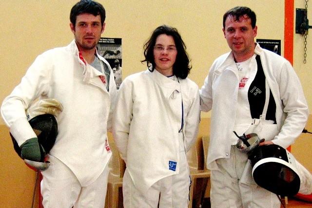 de gauche à droite : Mickaël RABAY, Emilien LAURENT et Laurent NIEPCERON
