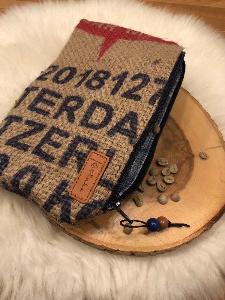 Kaffesack-Krimskrams 19.- 21x13cm