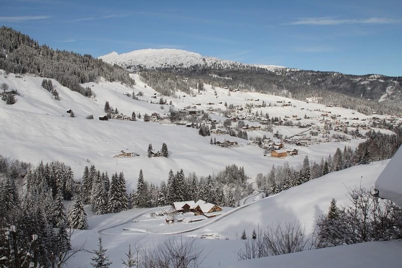 Aussicht aus FEWO 2 auf Hirschegg