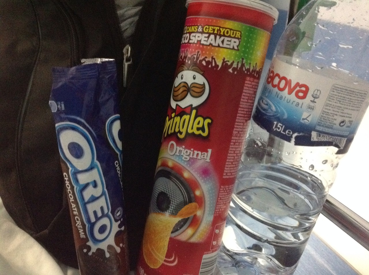 Pringles Original, Oreokekse (die dunklen), Wasser