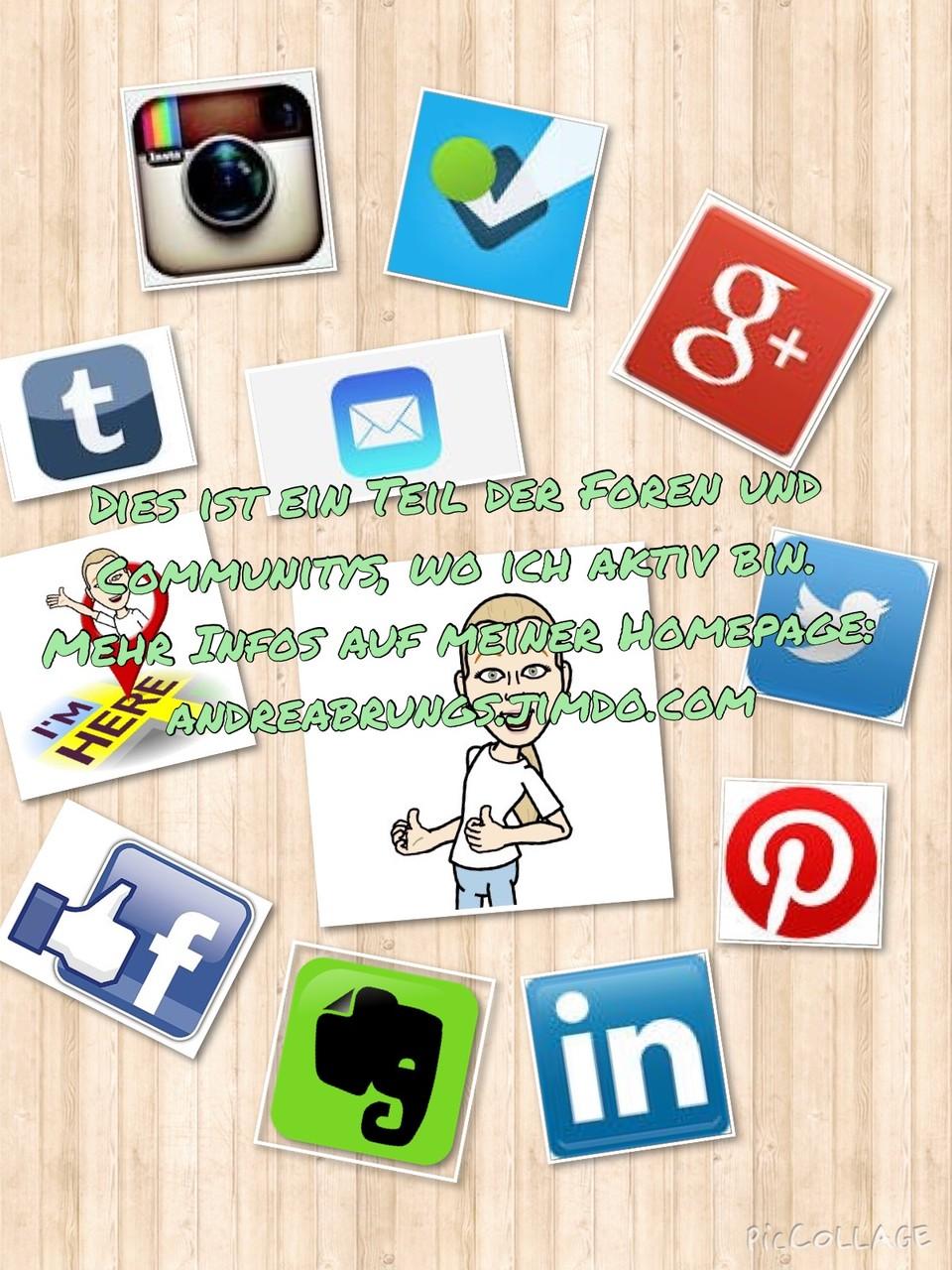 Communitys  Hier gehts zum Homepageforum, Gästebuch und zu allen Communitys wo ich auch aktiv bin.