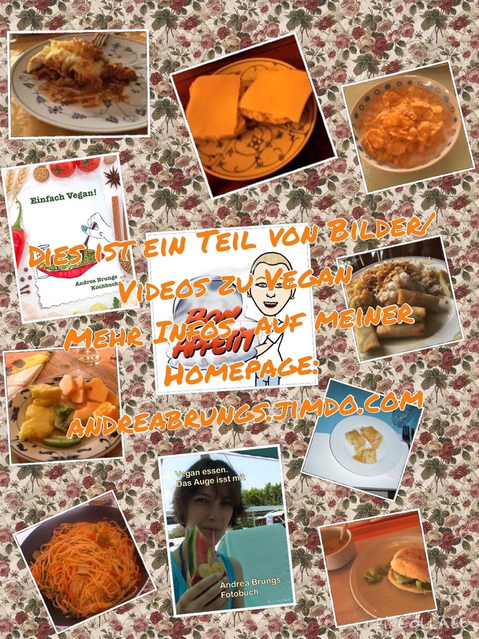 Bilder/Videos zu Vegan  Hier gibt es einiges aus meine Büchern Einfach Vegan! und Vegan essen. Das Auge isst mit zu sehen