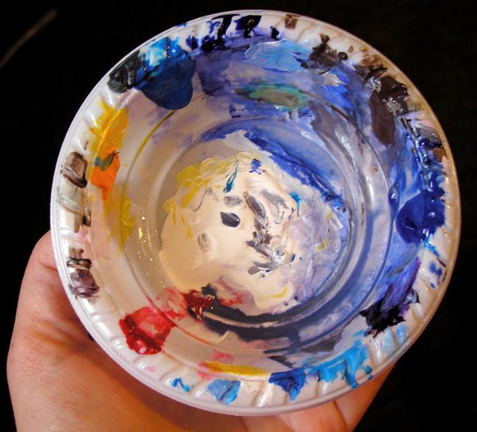 My palette. 03-2010.