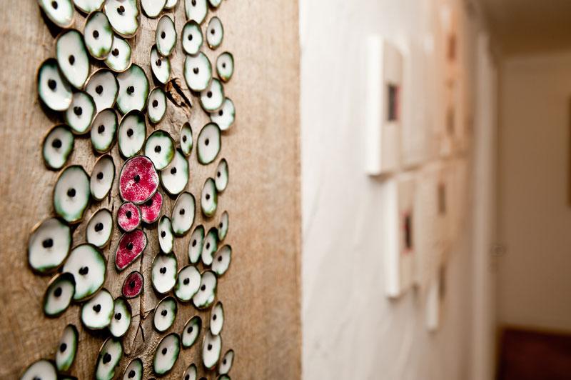 Kunstnacht 2017: - Blüten des Feuers - Simone Winkler • Foto: Sandra Geiger