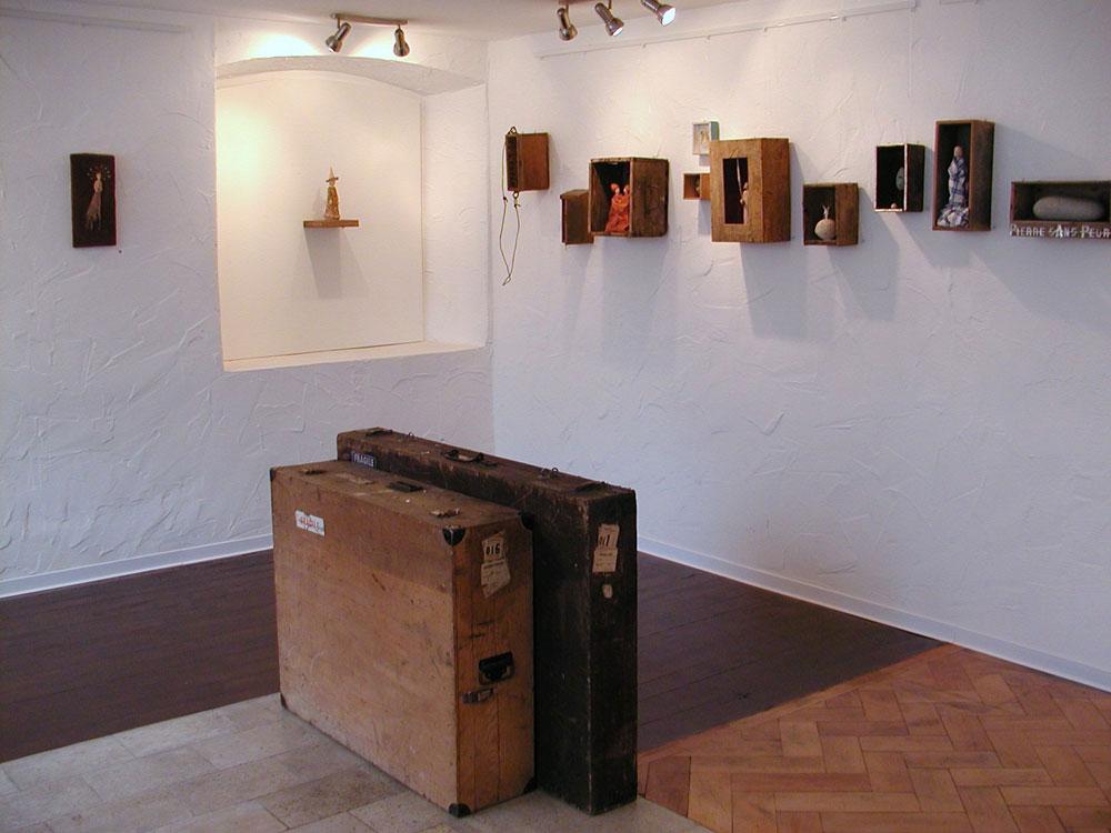 Gemeinschaftsausstellung 2007: - Weggefährten - Kristina Johlige Tolstoy / Simone Winkler