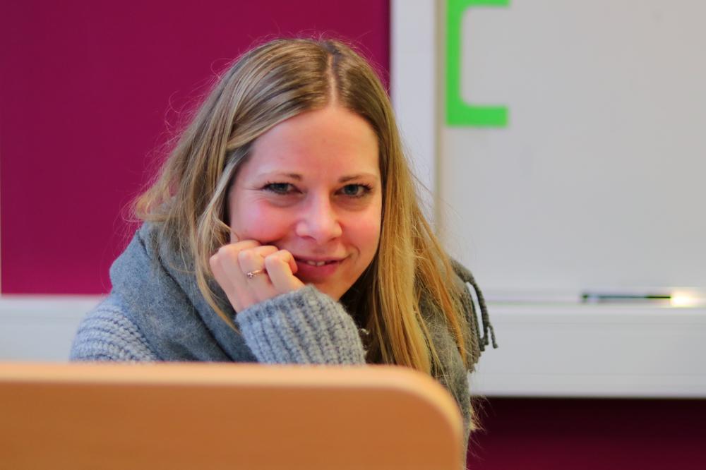 Das sind unsere SV-Berater: Janne Ebel und Christine Goes (nicht im Bild)