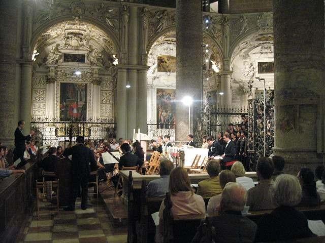 フランチスカーナ教会演奏会