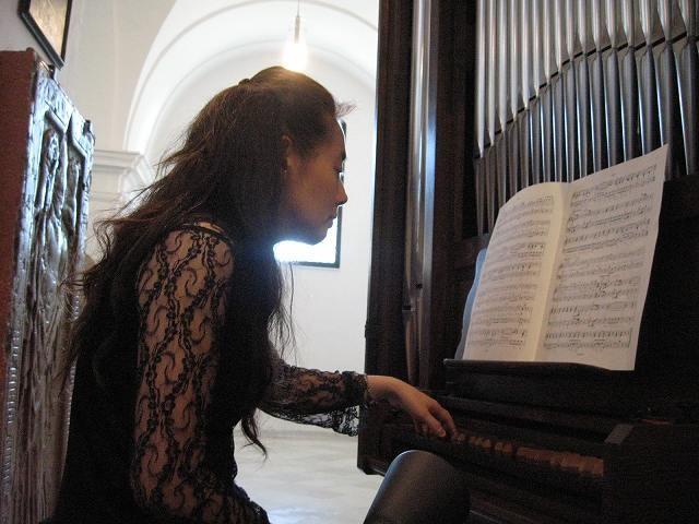 フランチスカーナ教会内オルガン