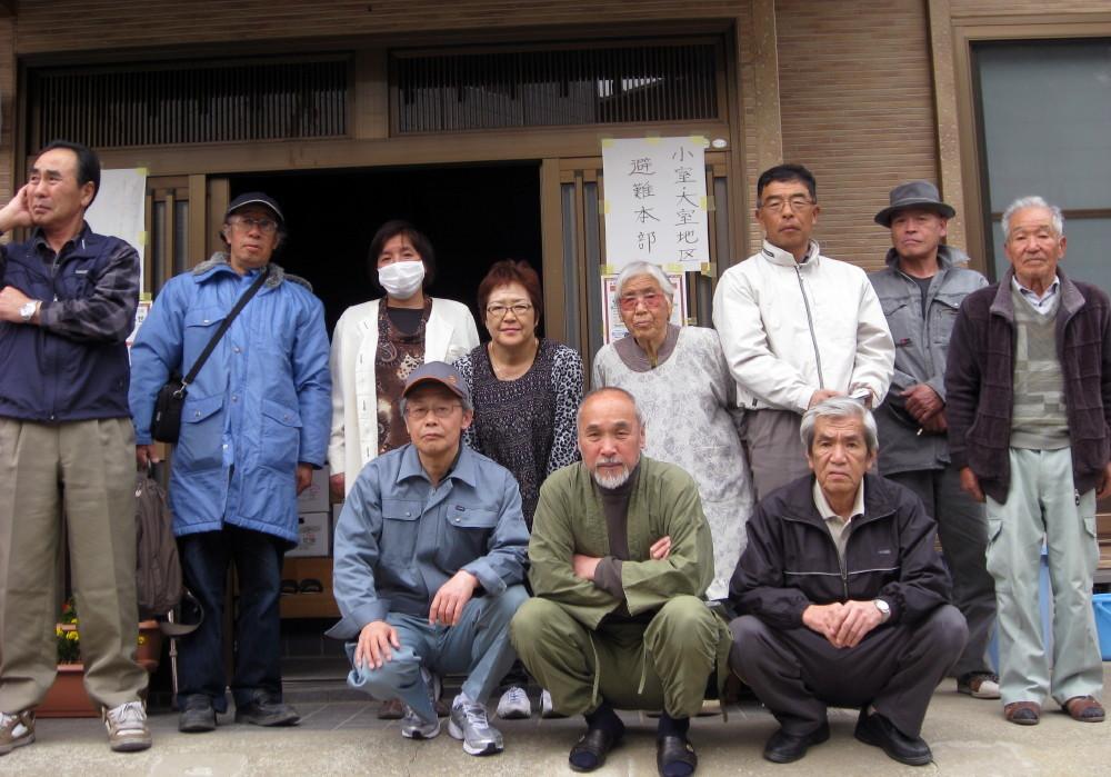 山形県高畠町の皆さんが何度も支援に来てくれました