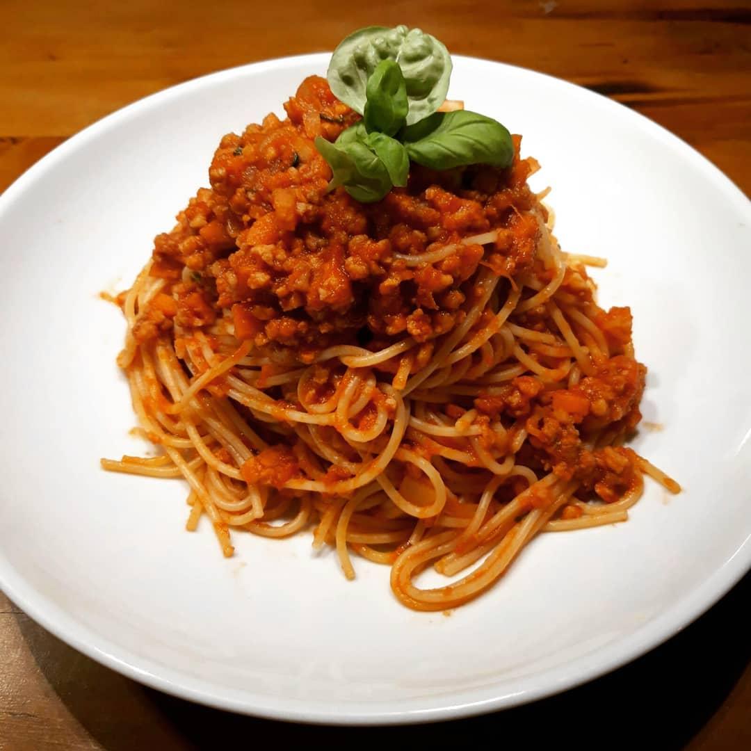 Vegane Sauce Bolognese