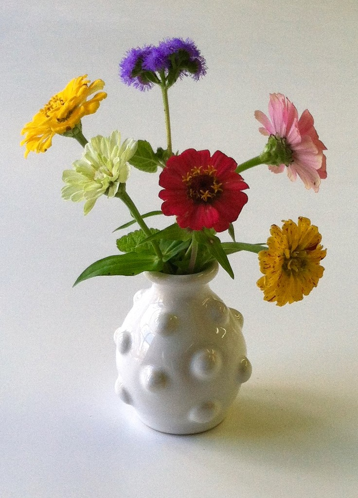 White Ceramic Vases Handmade In Usa Jacquesschickel