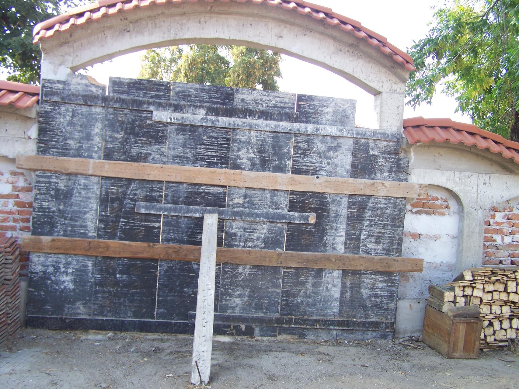 Das entstandene Tor