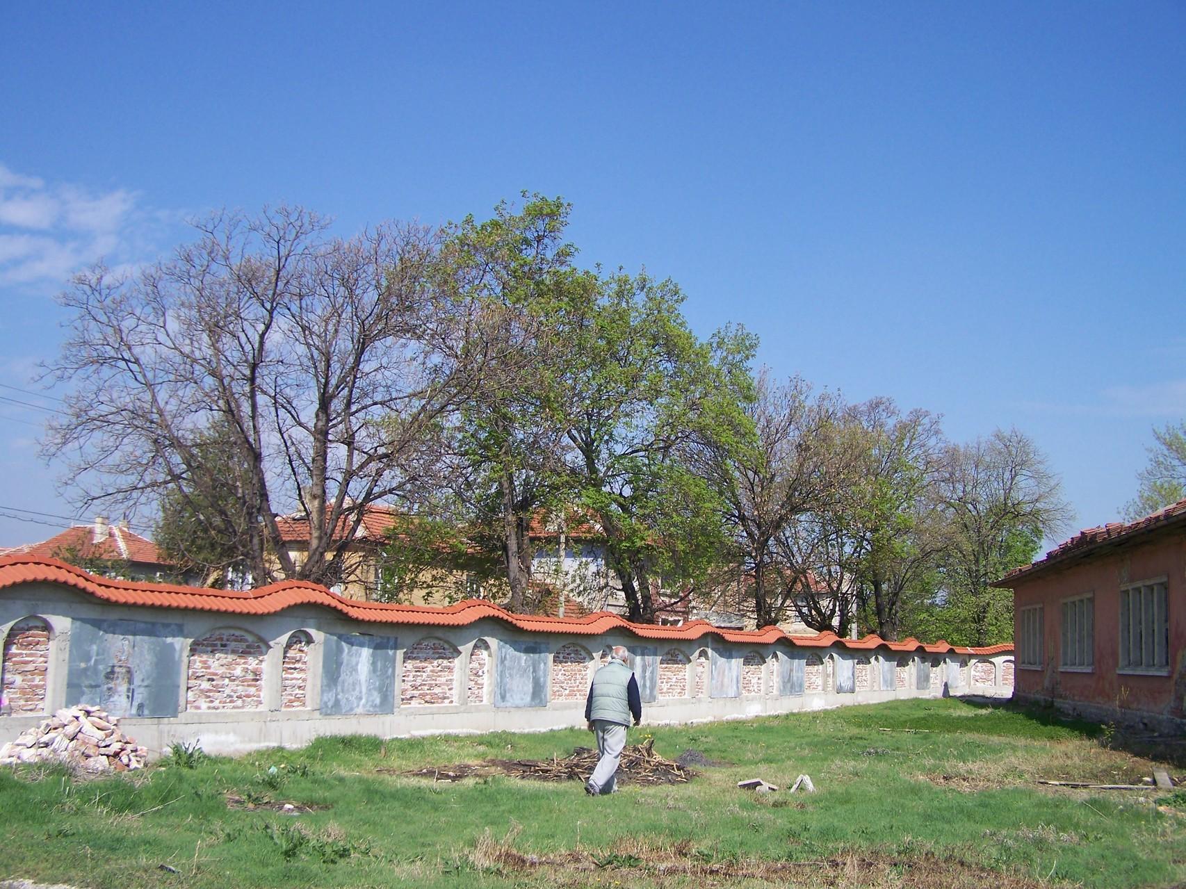 Die gebaute Mauer