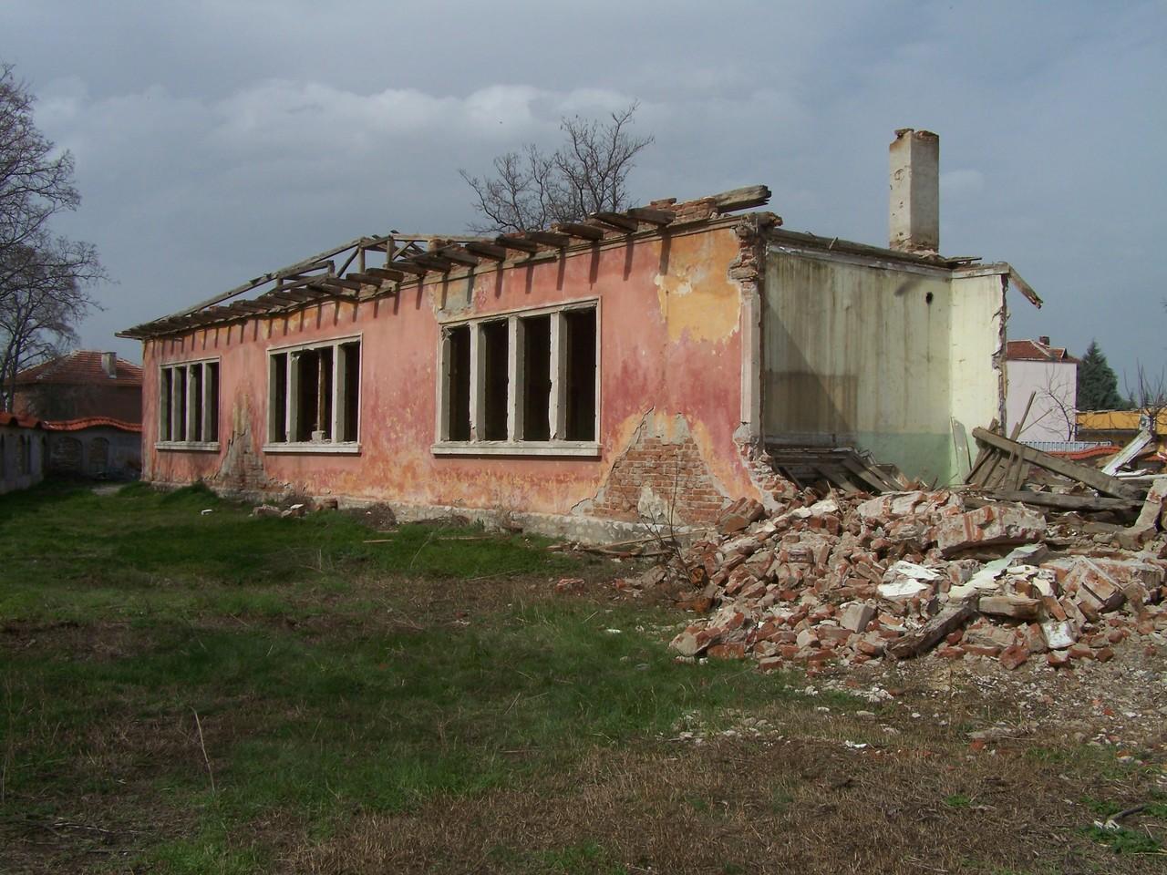 Die ehemalige alte Schule